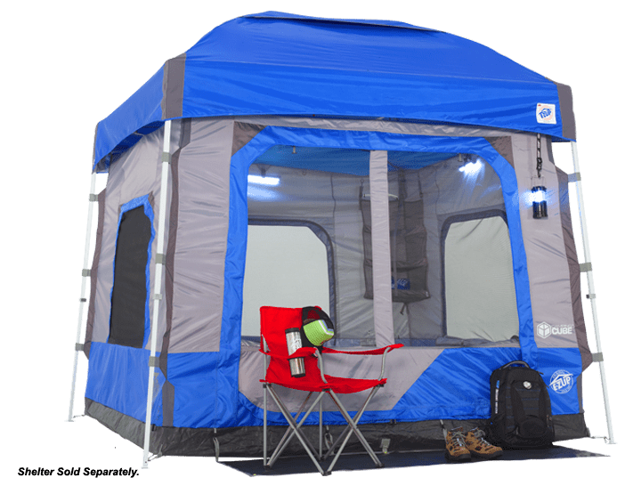 camping cube ezup attachment