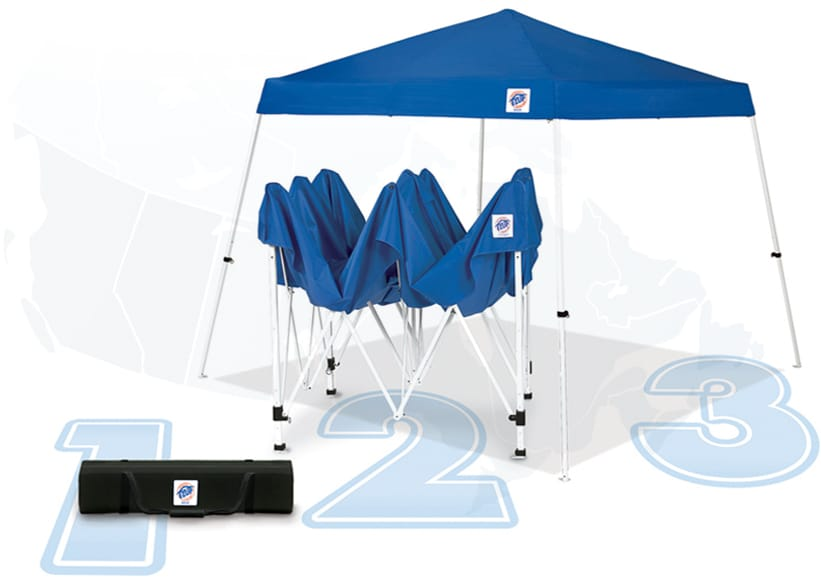 e-z-up instant shelters