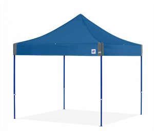 E-Z UP Eclipse 10x10 heavy duty pop up tent commercial promotional business durable royal blue