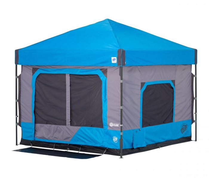 standing height camping tent