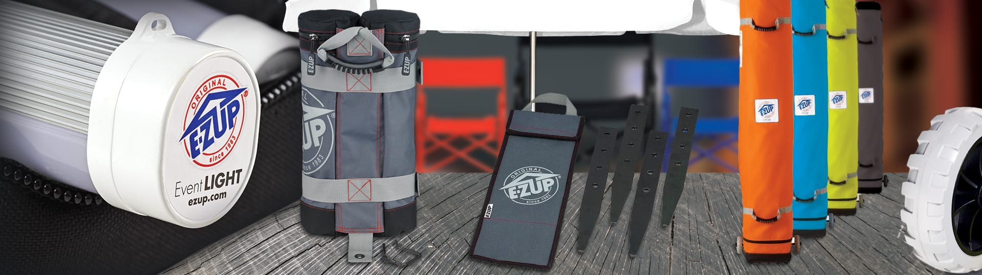 ezup instant shelter accessories