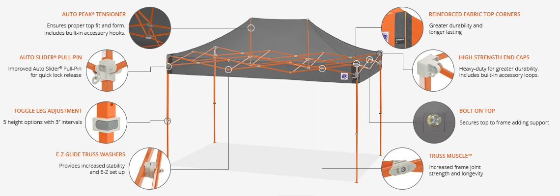 ezup dome shelter  sc 1 st  Custom Shelters & Speed Shelter® 8ft X 12ft | Custom Shelters | E-Z Up Canada