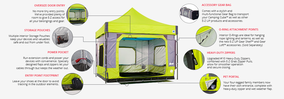 ezup camping cube